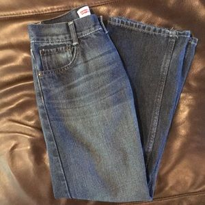Boys Levi 505 denim jeans size 14 reg